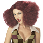 Disco Sensation (Burgundy) Adult Wig 100-194623