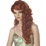 Mermaid (Auburn) Adult Wig 100-194631