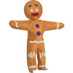 Shrek Forever After - Gingerbread Man Plus Adult Costume 100-195303