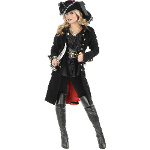 Pirate Vixen Adult Coat  100-195124