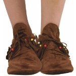 Hippie (Women's) Adult Moccasins  100-195620