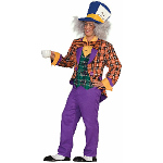 Plaid Mad Hatter Adult Costume 100-195677