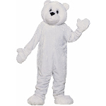 Polar Bear Plush Economy Mascot Adult Costume 100-195706