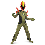 Ben 10 Swampfire Classic Child Costume 100-187445
