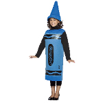 Blue Crayola Crayon Child Costume 100-195770