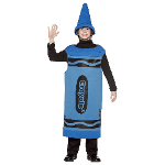 Blue Crayola Crayon Tween Costume 100-195772