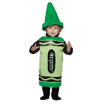 Green Crayola Crayon Toddler Costume 100-195773