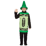 Green Crayola Crayon Child Costume 100-195775