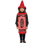 Red Crayola Crayon Child Costume 100-195780