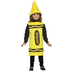 Yellow Crayola Crayon Child Costume 100-195785