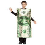 $100 Bill Child Costume 100-195875