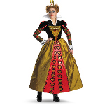 Alice In Wonderland Movie Deluxe Red Queen Adult Costume 100-188032