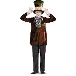 Alice In Wonderland Movie - Deluxe Mad Hatter Adult Costume 100-188036