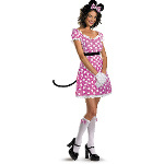 Sexy Pink Minnie Mouse Adult Costume 100-188040