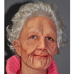 Supersoft Old Woman Adult Mask 100-196255