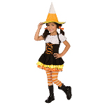 Little Candy Corn Witch Toddler / Child Costume 100-196871