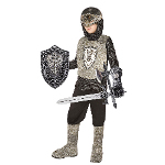 Knight (Silver) Child Costume Kit 100-196883