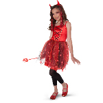 Dazzling Devil Light-Up Child/Tween Costume 100-196907