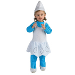 The Smurfs - Smurfette Infant / Toddler Costume 100-197241