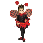 Deluxe Lady Bug Toddler / Child Costume 100-197412