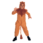 The Wizard of Oz  Cowardly Lion  Child Costume 100-100336