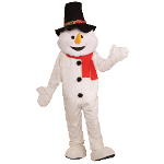 Snowman Plush Economical Mascot Adult Costume 100-198160
