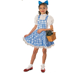 The Wizard of Oz  Dorothy Deluxe Child Costume 100-100973