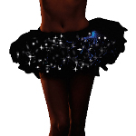 Light Up Black Tutu (Adult) 100-199116