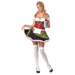 Bavarian Bar Maid Adult Plus Costume 100-198756