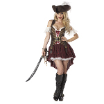 Sexy Swashbuckler Adult Costume 100-198757