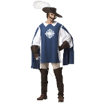 Musketeer Adult Costume 100-198805