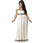 Olympic Goddess Adult Plus Costume 100-198818
