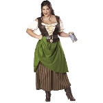Tavern Maiden Adult Plus Costume 100-198820