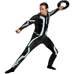 Tron Legacy -  Deluxe Adult Costume 100-198539
