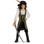 On Stranger Tides - Angelica Deluxe Child Costume 100-198242