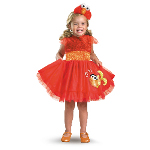 Sesame Street - Frilly Elmo Toddler / Child Costume 100-198295
