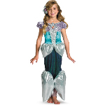 Disney Princess Ariel Deluxe Toddler / Child Costume 100-198321