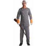 Southern Officer Adult Costume 100-199165