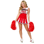Cheerleader USA Adult Costume 100-199709