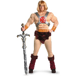 Masters Of The Universe - He-Man Adult Costume 100-199924