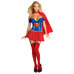 Justice League - Supergirl Corset Adult Costume 100-211022