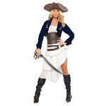 Colonial Pirate Adult Costume 100-211254
