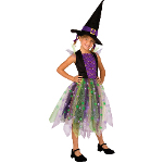 Light-Up Rainbow Witch Child Costume 100-211571
