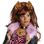 Monster High - Clawdeen Wolf Wig (Child) 100-211481