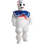 Stay Puft Marshmallow Man Inflatable Child Costume 100-211484