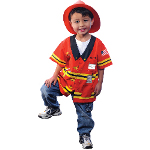 My First Career Gear - Firefighter Toddler Costume 100-199893