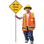 My First Career Gear - Road Crew Toddler Costume 100-199894