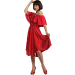 Saturday Night Fever Red Dress Adult Costume 100-211635
