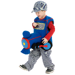 Plush Ride-In Train Toddler Costume 100-211964
