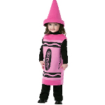 Crayola Tickle Me Pink Crayon Toddler Costume 100-199865